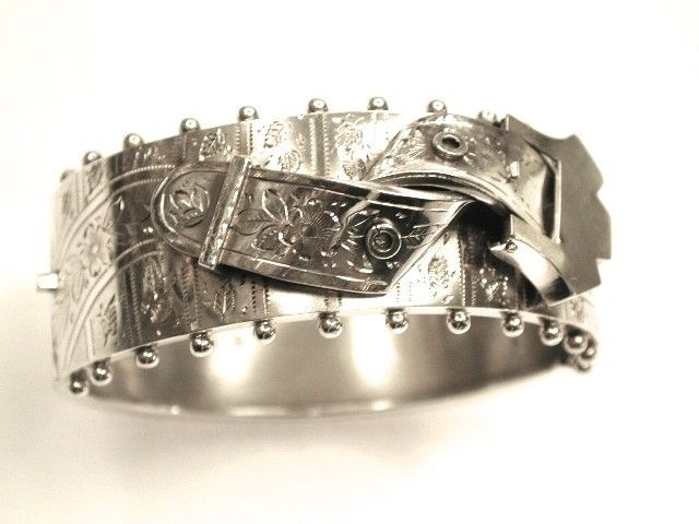 Antique Victorian Buckle Style Bangle