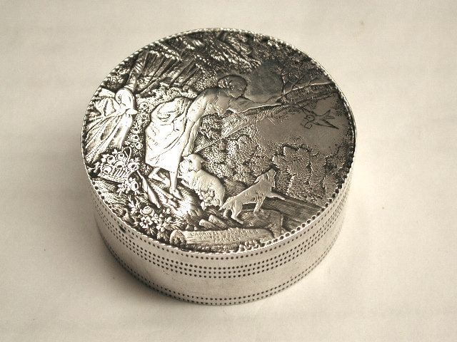 French Silver Box