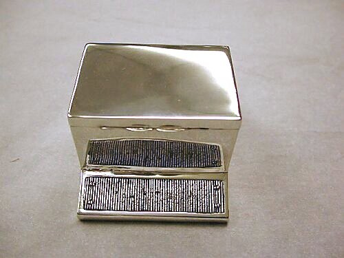Antique Silver Table Matchbox