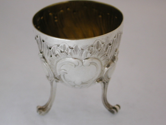 French Silver Egg Cup